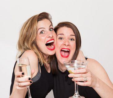 Two-women show !
